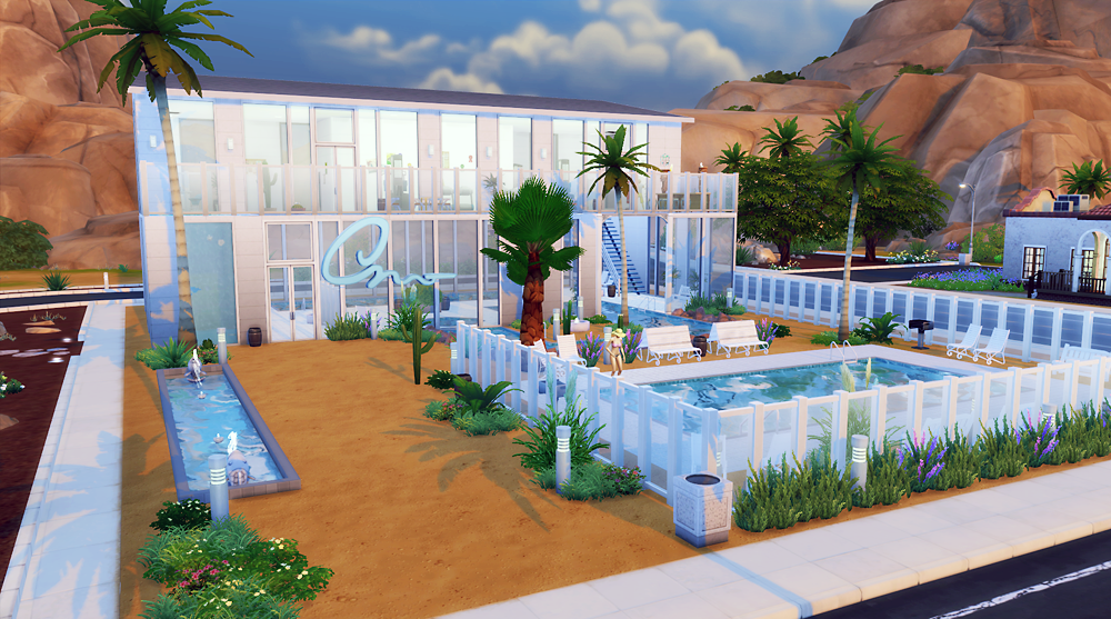 Indoor Swimming Pool Gym community lot - public swimming pool & gym | berrysimlish