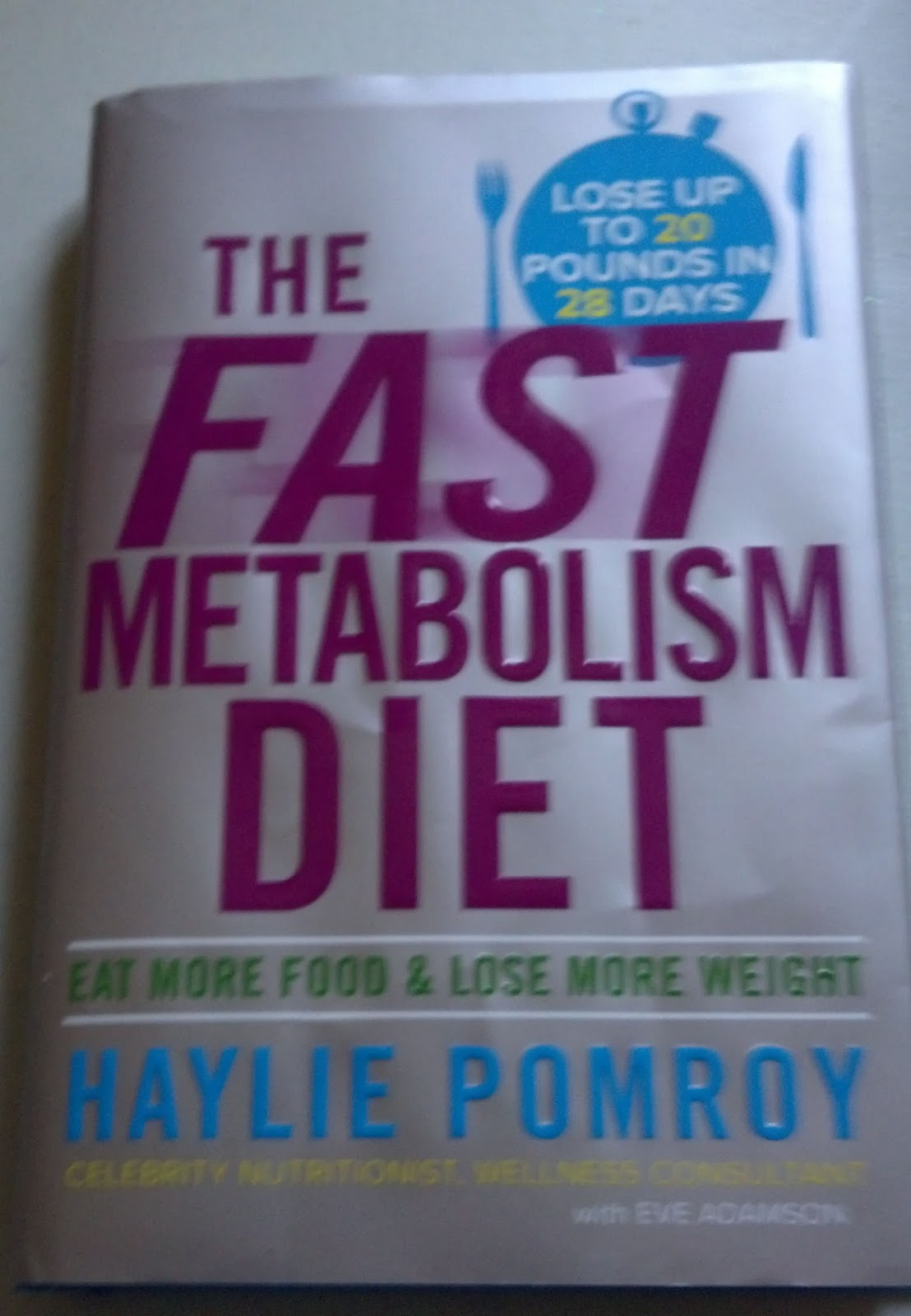 Fast metabolism diet reviews - I Was Given The Opportunity By Shespeaks To Try The Fast Metabolism Diet By Haylie Pomroy In Exchange For My Review Cool Cover Eh