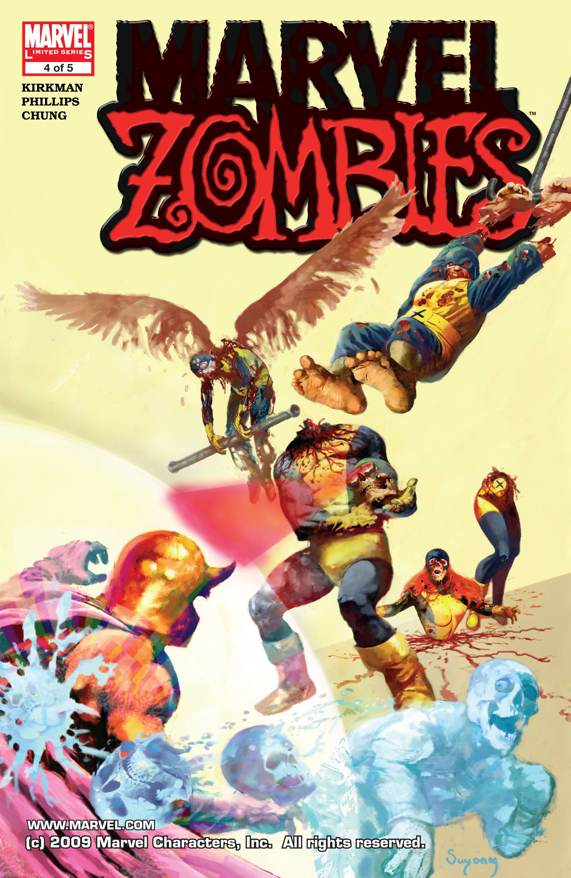 Marvel Zombies (2006) Issue #4 #4 - English 1