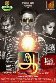 Aaaah (2014) Tamil Movie Poster
