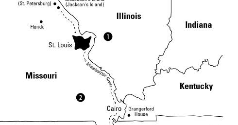 Huckleberry Finn Project: Maps