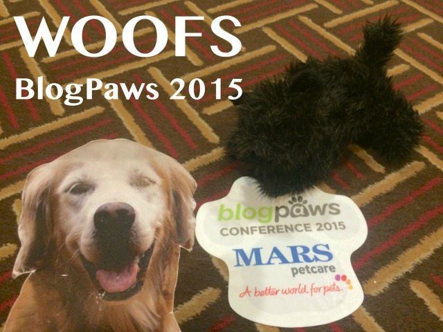 Little Oz and Flat Sugar went to the BlogPaws Conference in Nashville