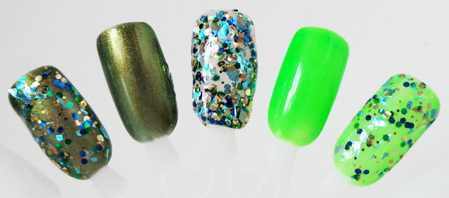 MODELS OWN MIDORI LIMITED EDITION COLLECTION SWATCHES - GOLDEN GREEN, DANCING QUEEN & MY MIDORI