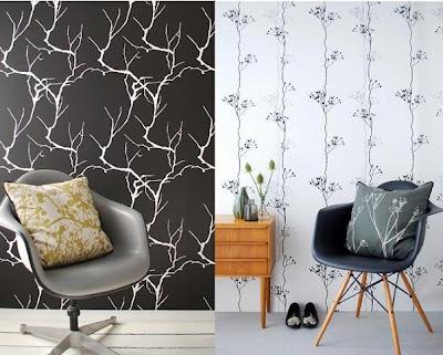 farkli+tasari+duvar+kagidi Yeni Sezon Dekoratif Duvar Kağıtları