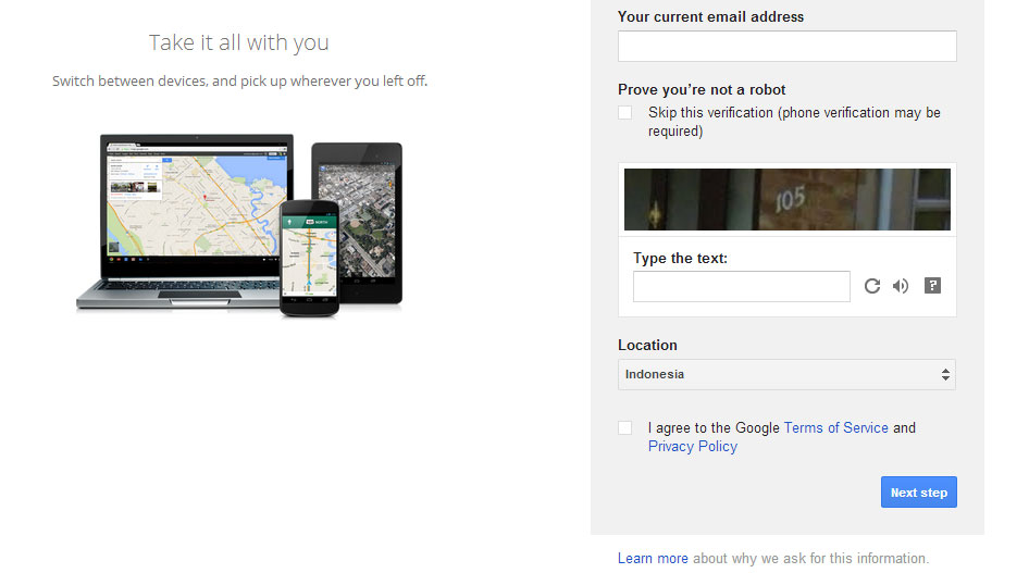 Cara Membuat Email Gmail 3