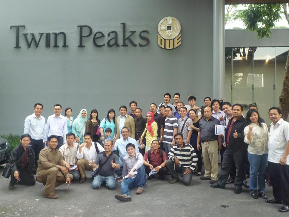 Foto Seminar Cipto Junaedy di Singapura