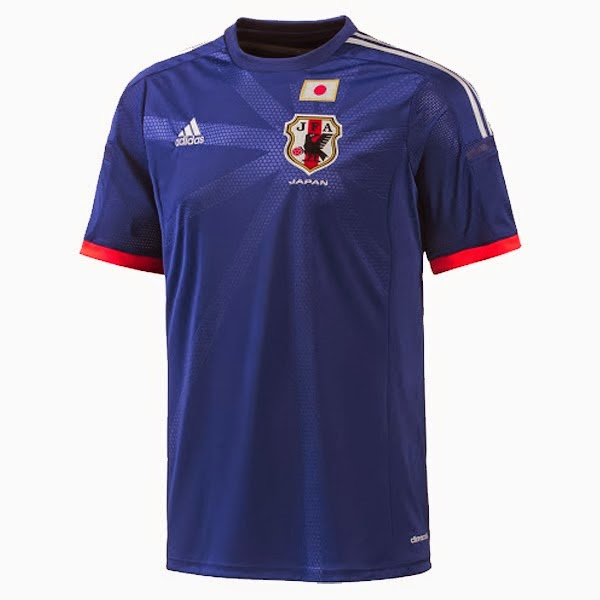 Kostum Timnas Jepang Piala Dunia 2014