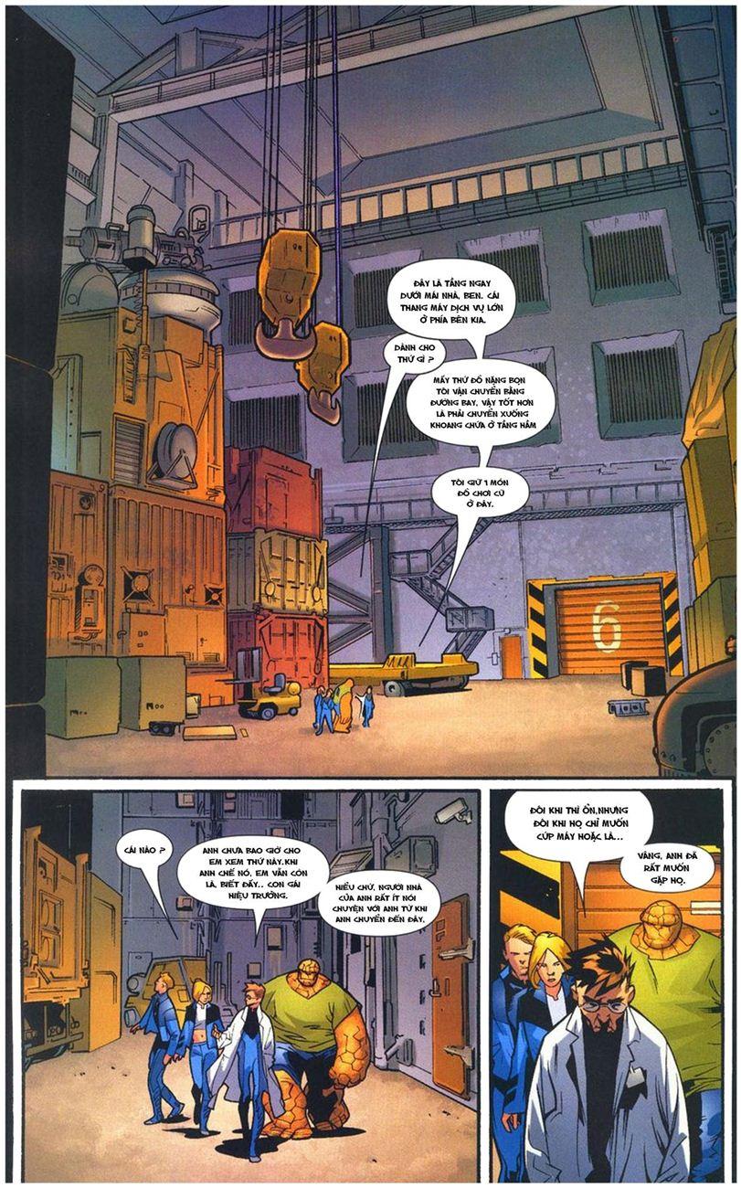 Ultimate Fantastic Four chap 10 - Trang 14