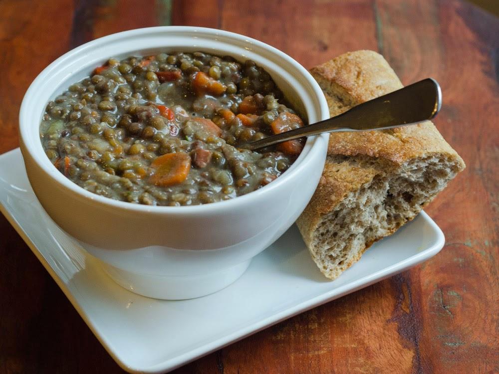Ham, Lentil and Vegetable Soup (Pressure Cooker Version) | Simple ...