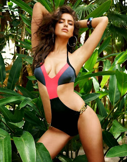 Irina Shayk looks sexy in colorful Beach Bunny Bikini March 2014 ht ass