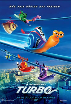 Turbo 2013 movie poster