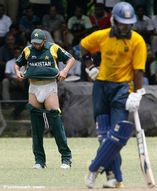 Shahid Afridi Funny Pictures