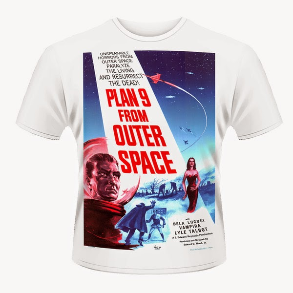 Camiseta Plan 9 from Outer Space