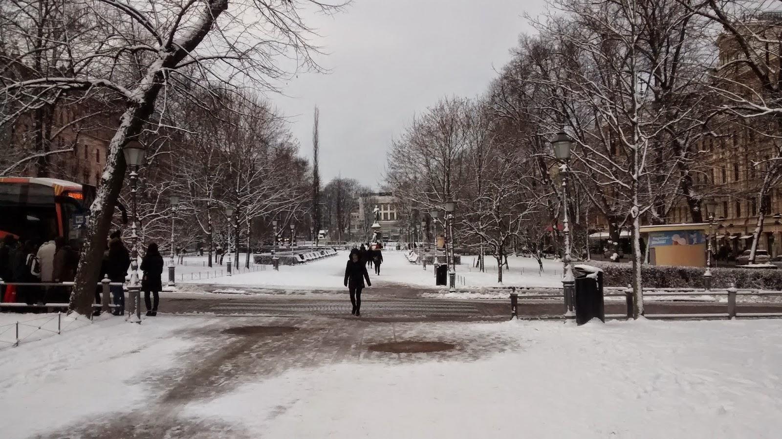 Neve na Finlândia