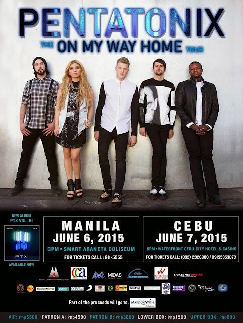 Pentatonix On My Way Home Tour Live in Manila