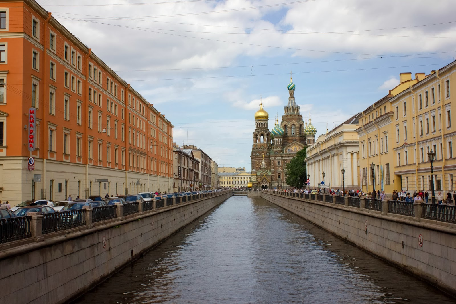 Санкт-Петербург, Россия, Спас на Крови