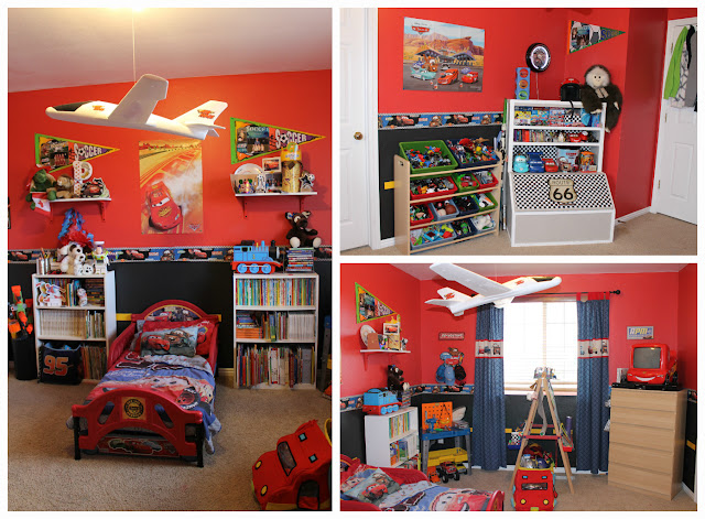 {The Undone Blog} Cars Bedroom