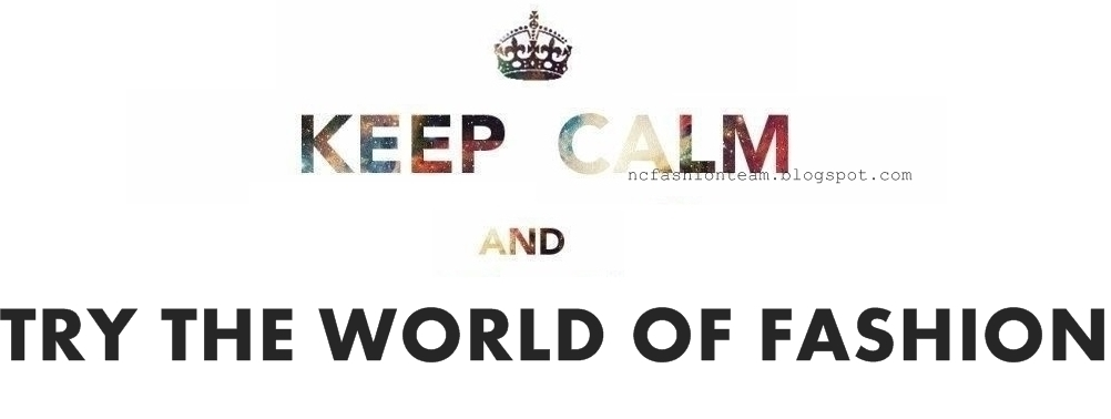 KEEP CALM and TRY THE WORLD OF FASHION