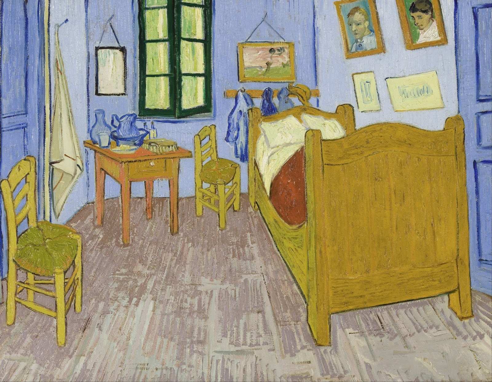 Make A Mark: Bedroom Dioramas inspired by Vincent Van Gogh