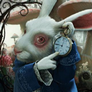El rinc n de los trastos un conejo con un reloj - Conejo de alicia en el pais de las maravillas ...