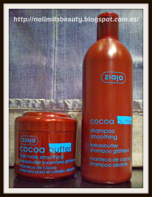 Ziaja: Cocoa Butter Champú y mascarilla (review)