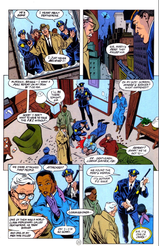 Deathstroke (1991) Issue #6 #11 - English 23