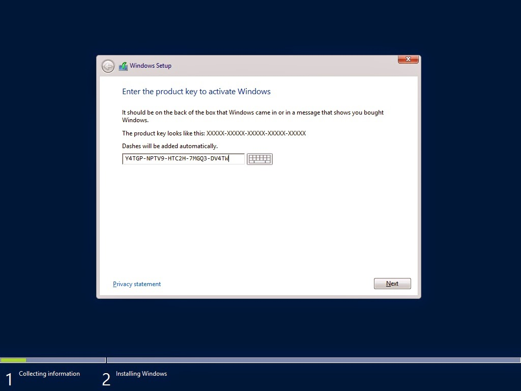 product key windows server 2012 r2 datacenter