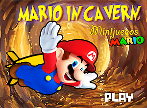 Mario in Cavern