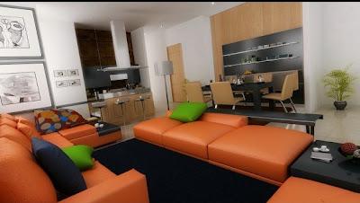 diseño sala comedor moderno