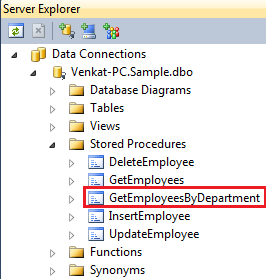linq to sql stored procedure output parameter