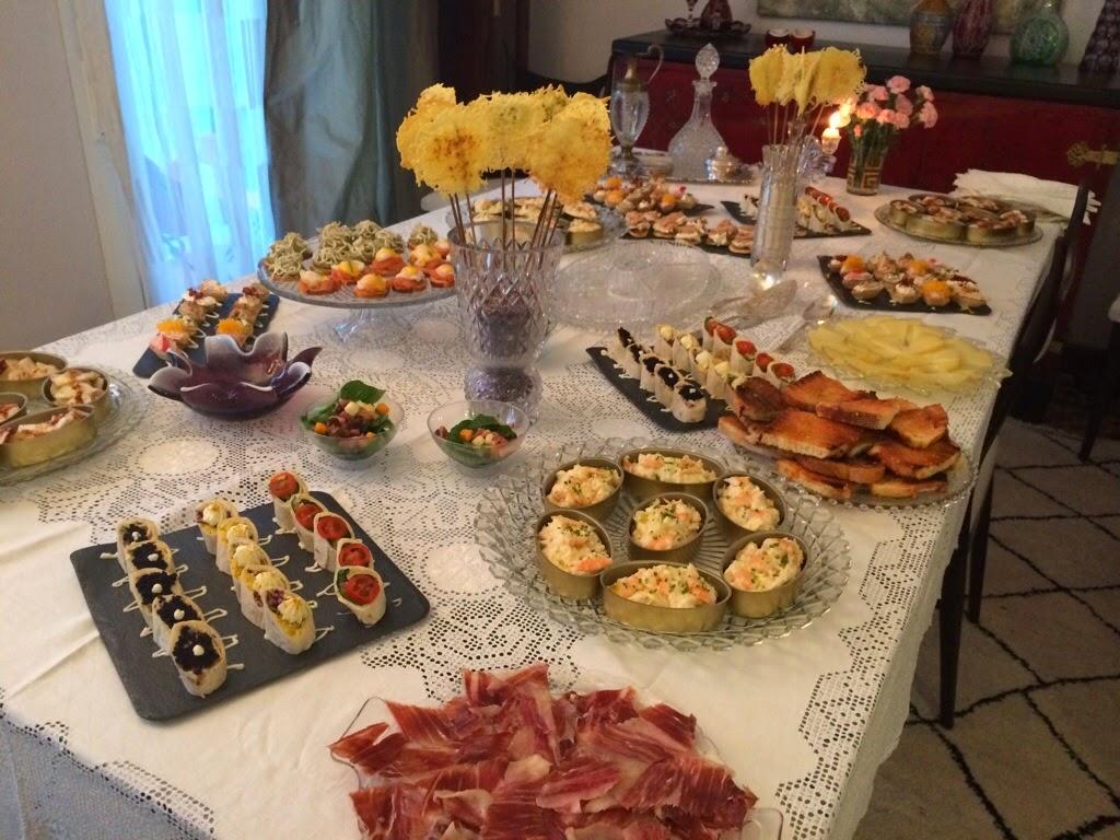 Viviendo los 50 fiesta - Cena con amigos en casa ...