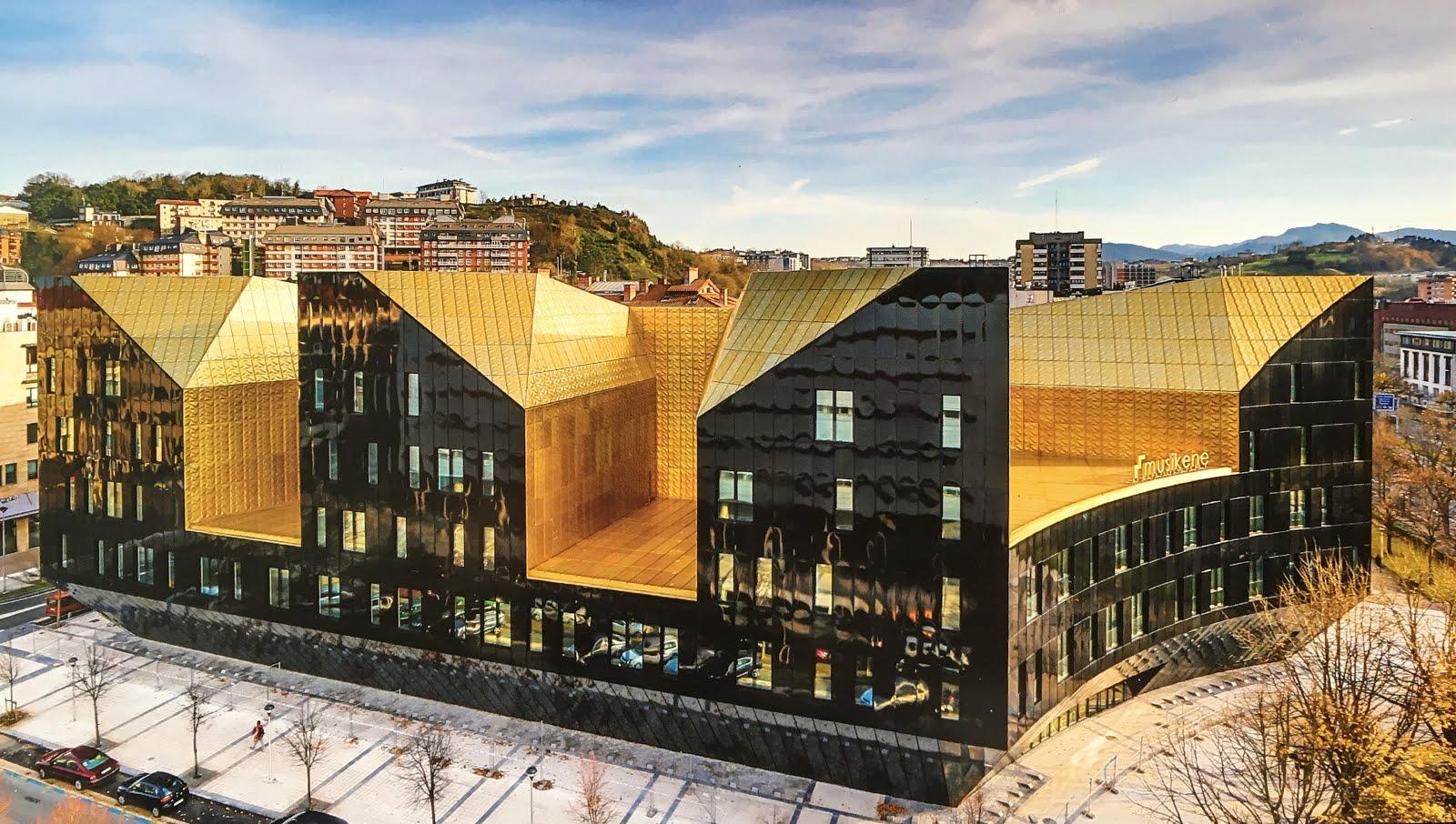 La idea construida musikene centro superior de m sica - Arquitectura pais vasco ...