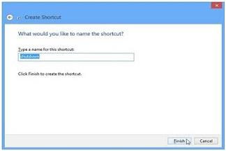 Cara Membuat Menu Shut Down, Restart, Hibernate, Sleep di Windows 8
