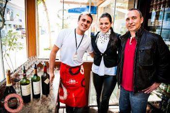 Representante Gilza e o Sommelier Flavio da Porto a Porto!