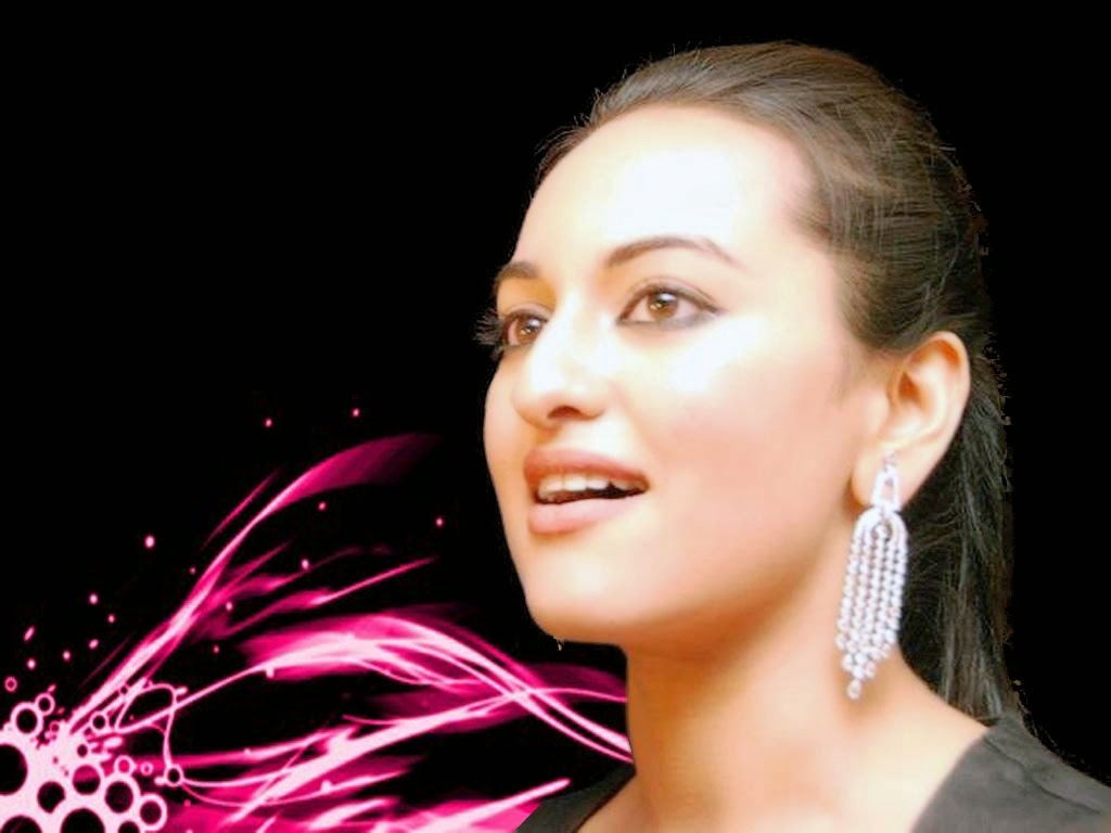 Bollywood Indian Actress Sonakshi Sinha Simple Nice HD Wallpaper