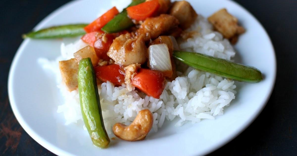 Dear Lauren, Love Mom: Cashew Garlic Chicken and Tofu with ...
