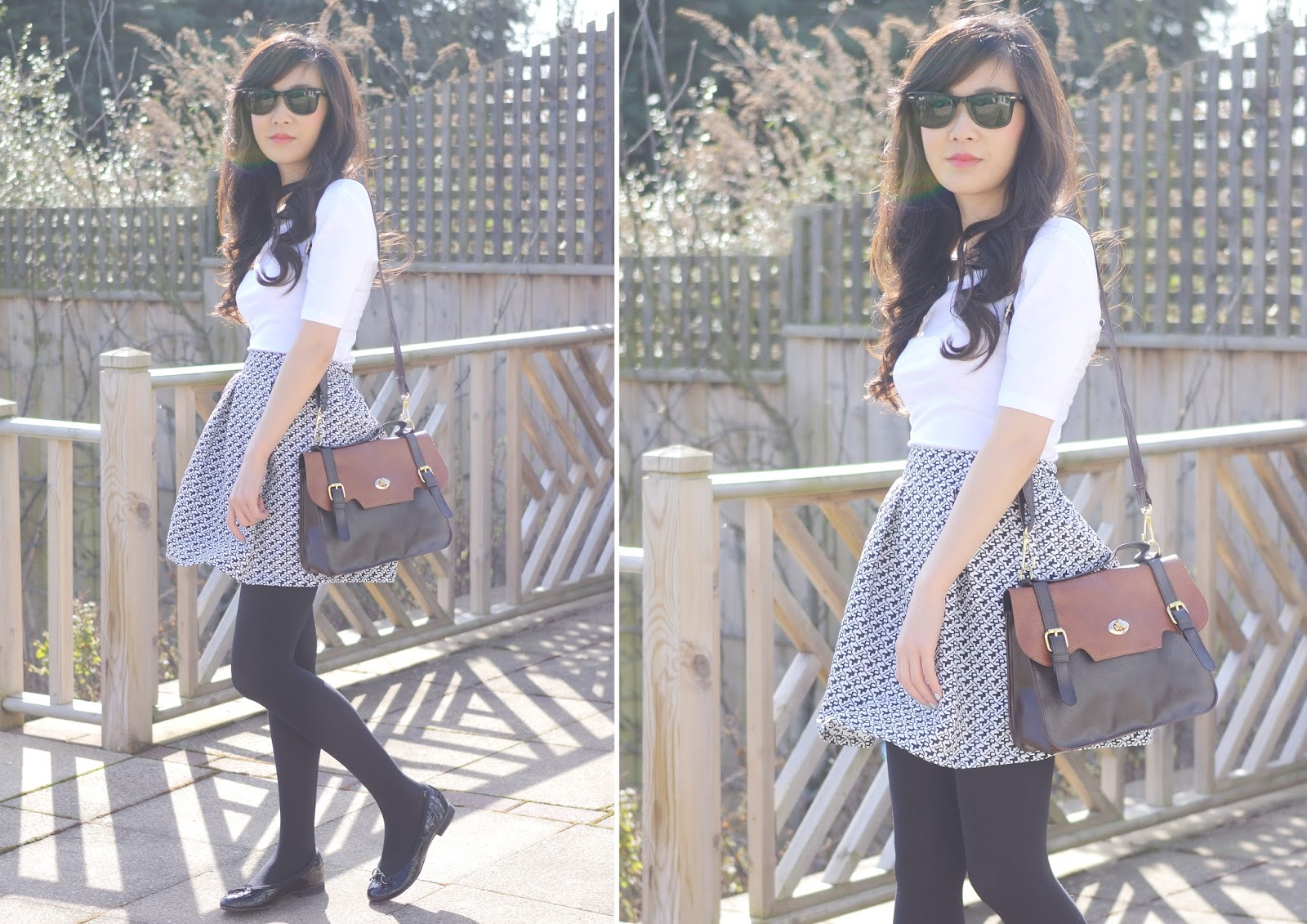 How To Style a skater skirt, fashion blog uk