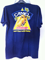 vintage camel n smokin t-shirt - made in usa