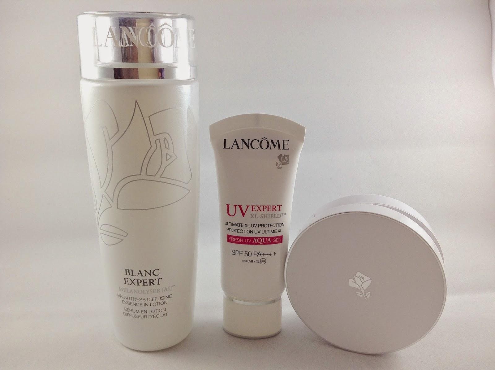 >>春夏白裡透紅肌*LANCÔME 全效美白組合 Blanc Expert/UV Expert XL-Shield