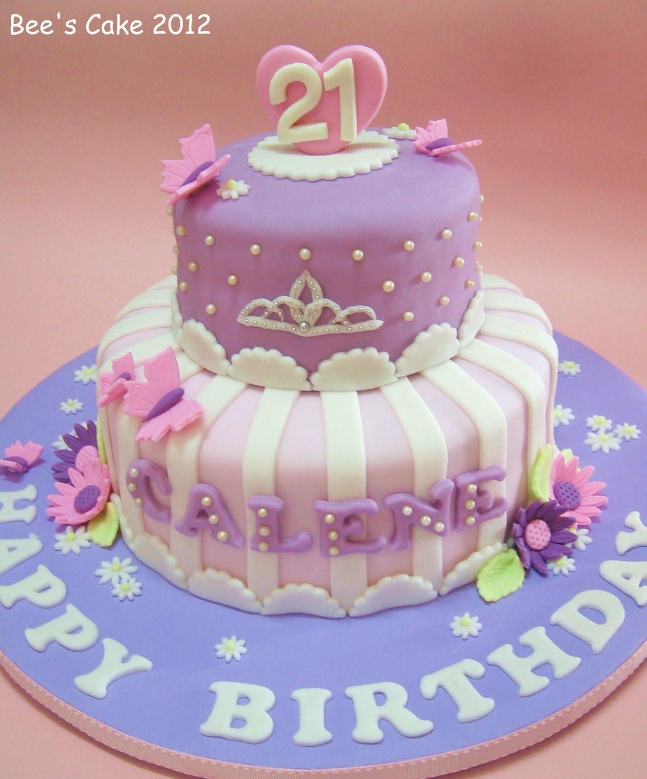 Princess Fondant Cake Design : Bee s Cake: Princess Calene s 21st