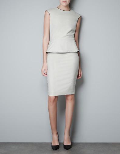 Fall/Winter 2012-2013 clothes: Peplum come back!