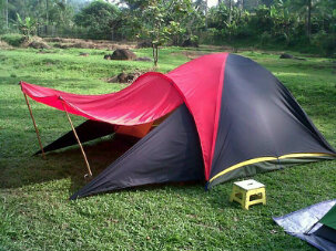 tenda dome, tenda dome keong, tenda dome murah, jual tenda dome