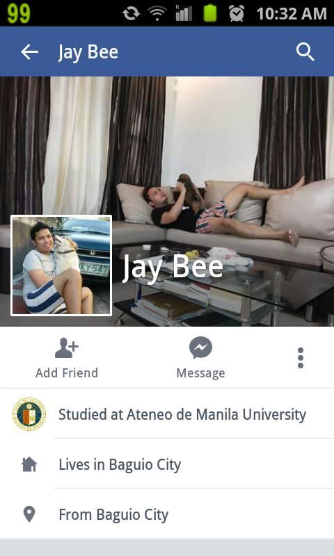 Jaybee Facebook profile