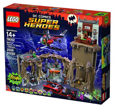 TOYS : JUGUETES - LEGO DC Comics Super Heroes   Batman Classic TV Series - 76052 Batcave  Producto Oficial 2016 | Piezas: 2526 | Edad: +14 años  Comprar en Amazon España & buy Amazon USA