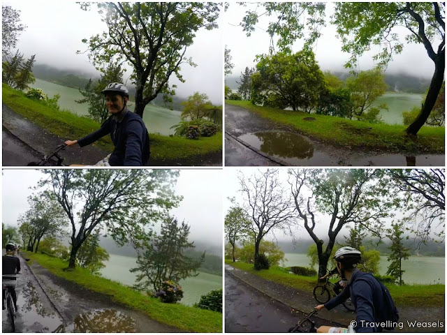 Mountain Biking Lagoa das Furnas