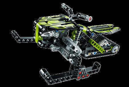 Lego Xe Trượt Tuyết Snowmobile 42021