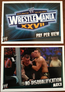 WWE Slam Attax Rumble cards