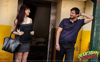 Jayantabhai Ki Luv Story HD Wallpaper Starring Neha Sharma, Vivek Oberoi