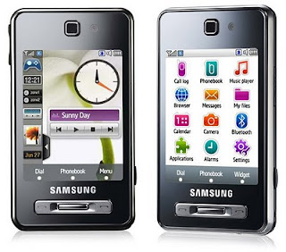 Samsung Mobile Phone F480.