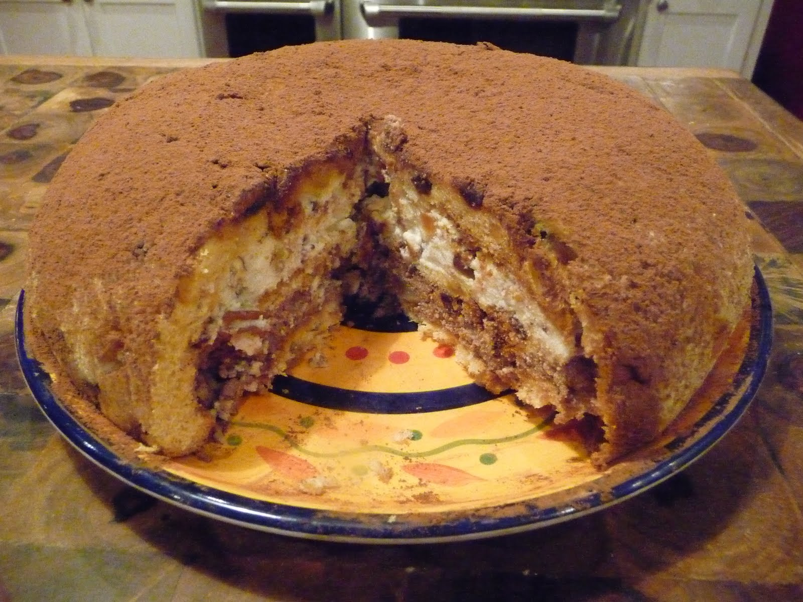 Zuccotto Recipe Panettone The Zuccotto di Panettone